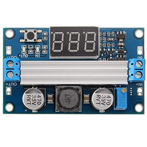L-YINGZON 100W 3-35V 12V to 3.5-35V DC-DC Step Up High Efficiency Module Boost Power Supply Voltmeter Module Receivers
