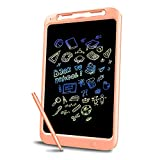JONZOO Colorful Writing Board, 12 Inches LCD Writing Tablet with Memory-Lock and Pen