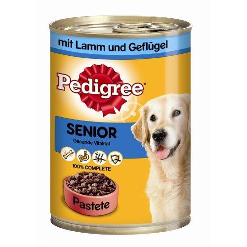Pedigree | Senior mit Lamm und Geflügel | 12 x 400 g