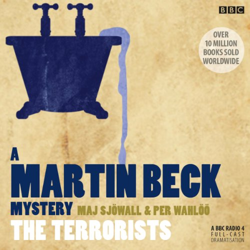 Martin Beck: The Terrorists audiobook cover art