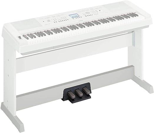 Yamaha LP-7AWH - Soporte de teclado, color blanco: Amazon.es ...