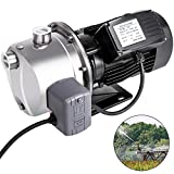 Happybuy Shallow Well Jet Pump with Pressure Switch 1HP Jet Water Pump 148