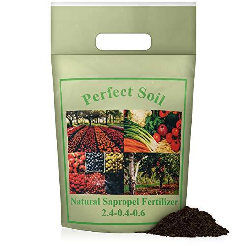 Organic Soil Fertilizer for Indoor Plants | Potting Soil for Vegetables and Tomato Fertilizer | Seed Starter Soil | Plant Food for Indoor House Plants | SaproGanics Lawn Garden Orchid Plant Dirt (2lb)