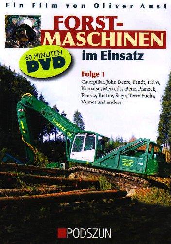 Folge.1 : Atlas Kern, Caterpillar, John Deere, Fendt, HSM, Pfanzelt, Ponsse, Rottne, Steyr, Terex Fuchs, Valmet und andere, 1 DVD