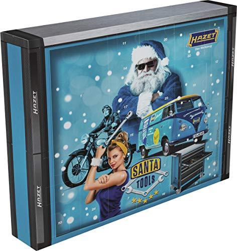 Hazet SANTATOOLS2019 Werkzeug-Adventskalender Santa Tools