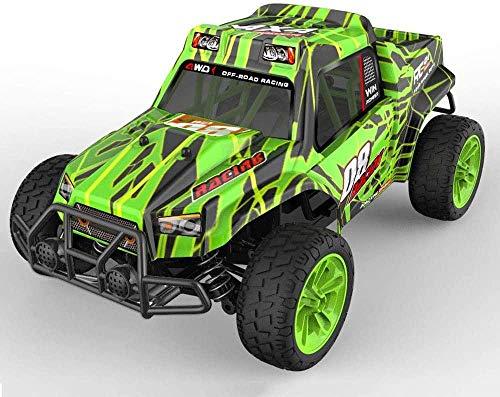 Desarrollar sabiduría 1/16 Large RC Model Car 4WD Off-Road RC Vehicle Bigfoot Monster Climbing RC 2.4G Coche de Control Remoto eléctrico Niños Adultos Navidad Cumpleaños Juguetes Regalos-re