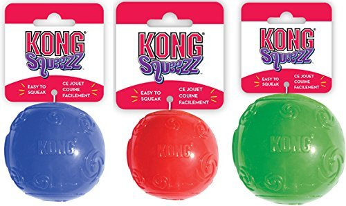 KONG - Squeezz Ball Dog Toy Extra Large x 2 Pack