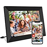 FRAMEO 10.1 Inch Smart WiFi Digital Photo Frame 1280x800 IPS LCD Touch Screen, Auto-Rotate Portrait and Landscape, Built in 16GB Memory, Share Moments Instantly via Frameo App from Anywhere