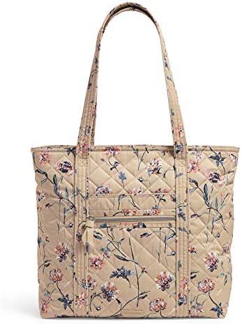 Vera Bradley Performance Twill Vera Tote Bag Strawflowers product image
