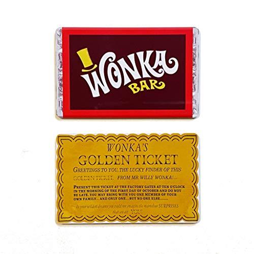 Willy Wonka bar. IMAN DE FRIDGE + Entrada de oro