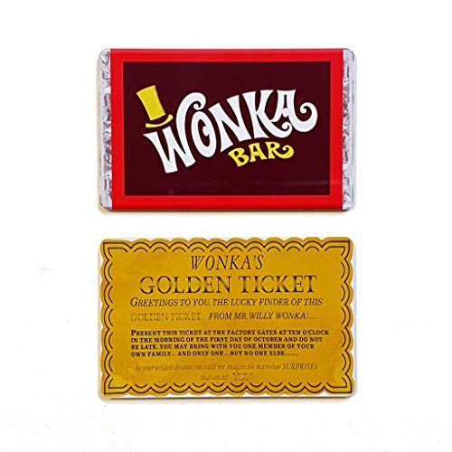 Willy Wonka bar. IMAN DE FRIDGE + Entrada de oro