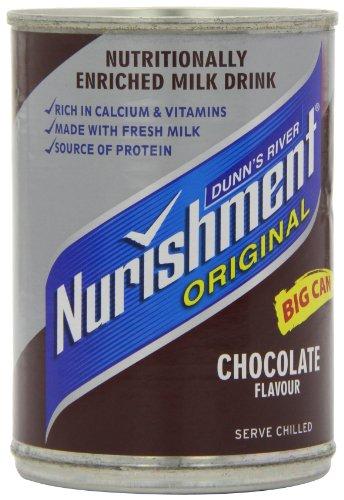 Dunns River Nurishment original Big Can Chocolate Flavour 400 g (förpackning 12)