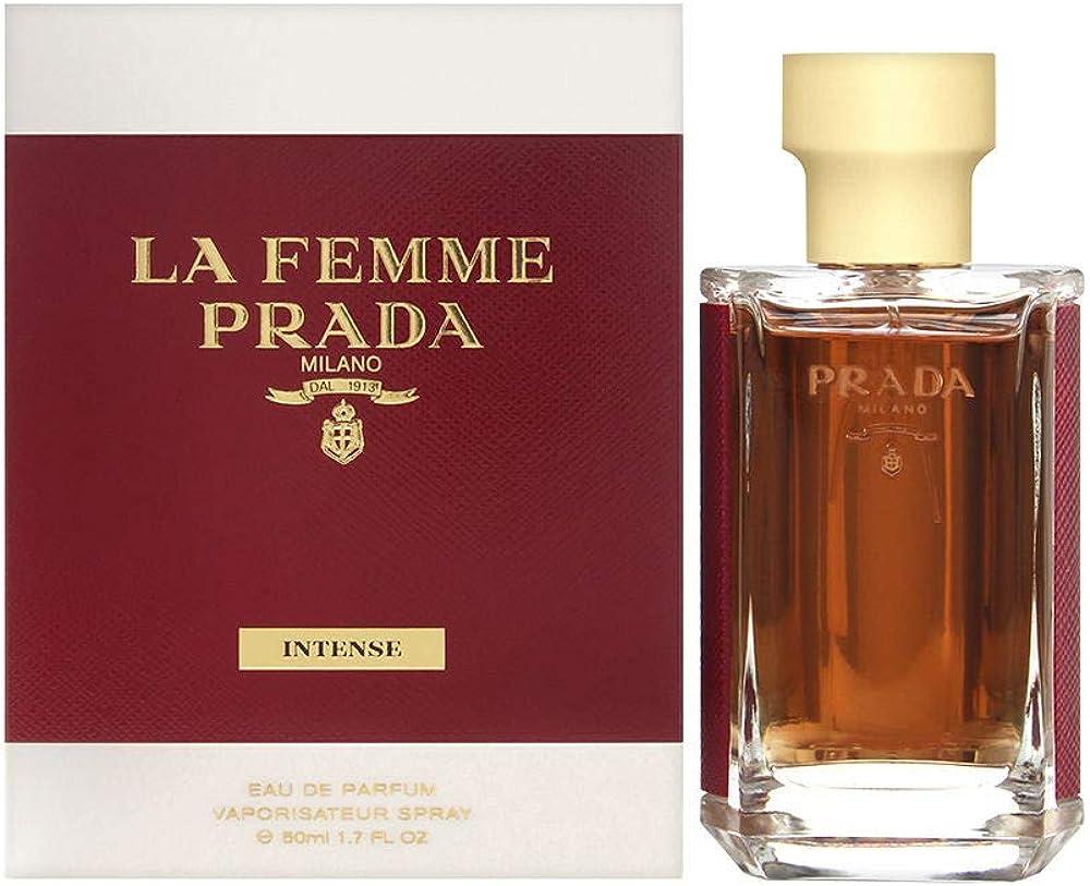 prada la femme intense, eau de parfum,profumo per donna 2482