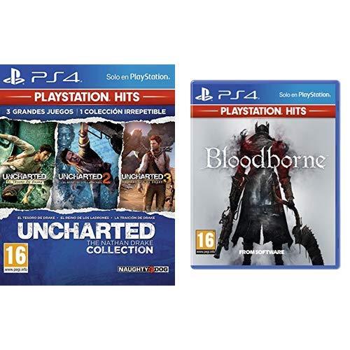 Uncharted Collection Hits - Versión 17 & Bloodborne Hits - Versión 13