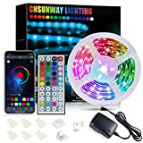 LED Strip 6m Bluetooth, CNSUNWAY Steuerbar via App und...