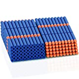 Nerf AMOSTING Refill Darts 200PCS Bullets for N-Strike Elite Zombie Strike Rebelle - Blue