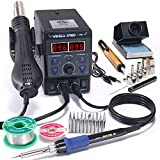 YIHUA 8786D I 2 in 1 Hot Air Rework and Soldering Iron...