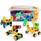 Building Block Learning Toy Set for Kids 118 PCS STEM Toys Kit Take