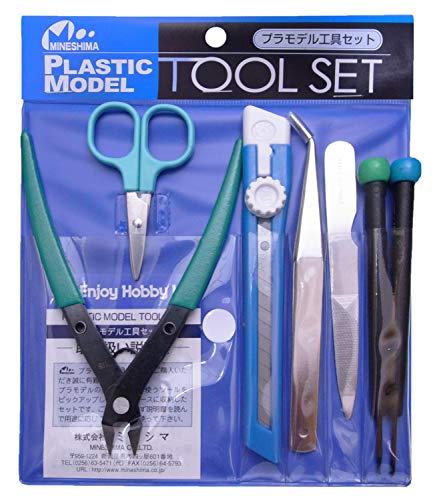 ミネシマ プラスチックモデル用工具セット 工具セット A-106