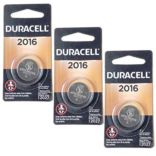 3X Duracell 3V Lithium Coin Battery Replaces 280-202/4/6, SB-T11, 5000LC, BR2017, FA