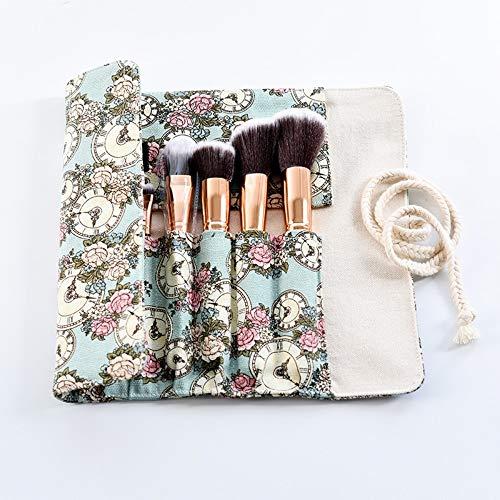 Simmia Home Kosmetikaufbewahrung, Sac de Rangement Pinceau de Maquillage Sac de Pinceau de Maquillage 5 pièces 22 * 21cm, 2