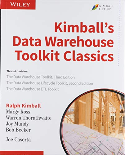 Kimball S Data Warehouse Toolkit Classics 3 Volume Set Discount Change