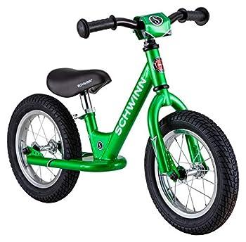 Schwinn Toddler Balance Bike 12-Inch Wheels Beginner Rider Training Green