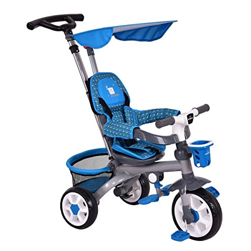 Product Image of the Costzon 4-in-1 Tricycle