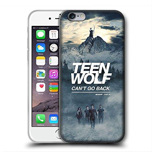 XMKLOQUDE Funda iPhone 7 Plus/Funda iPhone 8 Plus Case tee WOL Custom Protection Durable Shell Cases Transparent Cover