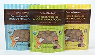 CocoTherapy Maggie`s Macaroons Gourmet Treats for Dogs