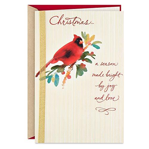 Hallmark Christmas Card (Cardinal, A Season Made Bright)