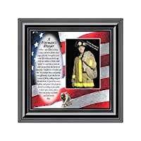 Personally Yours Fireman's Prayer Picture Frame 6795B [並行輸入品]