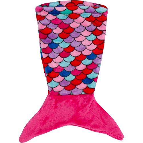 Pixie Crush Mermaid Tail Blanket - for 18' Doll (Pink, Blue, Coral, Purple)