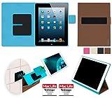 reboon booncover Tablet Hülle | zB. für iPad 2, Kindle Fire HD 8.9 | braun Gr. L | Tablet Tasche, Standfunktion, Kfz Tablet Halterung und mehr