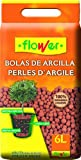 Flower 90205 Bolas de Arcilla expandida, Rojo, 28x7x35 cm