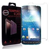 Ycloud Protector de Pantalla para Samsung Galaxy S4 Active 5.0Pulgada Cristal Vidrio Templado Premium [9H Dureza][Alta Definicion]