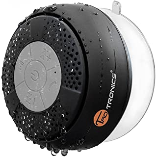 TaoTronics Bluetooth Shower Speaker, Water Resistant Wireless bluetooth Speaker (Build-in Microphone, Solid Suction Cup, 6 hrs Play Time)