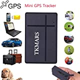 Zeerkeer GPS Tracker, Mini Real Time GPS Tracking 2 Months of Mouth in Stand-by Plotter and Waterproof Portable Location, Fonction of Turning on/Stop for Car Scooter Moto Bike TK903b