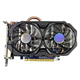 750 ti 2gb - QINGMEI Graphics Fan Graphics Card Gpu Fit for GIGABYTE Video Card GTX 750 Ti 2GB 128Bit GDDR5 Graphics Cards Fit for NVIDIA Geforce Hdmi Dvi VGA Cards Game Graphics Card
