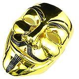 DAXINYANG Cosplay Masque V pour Vendetta Masque Anonyme Halloween Mascarade Cosplay Masque...