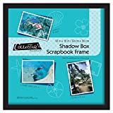 MCS 12.75x12.75 Inch Shadow Box Frame Holds 12x12 Inch Scrapbook Page, Black (40950)