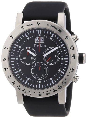 Teno Damen-Armbanduhr Chronograph Kautschuk 089.8201.13