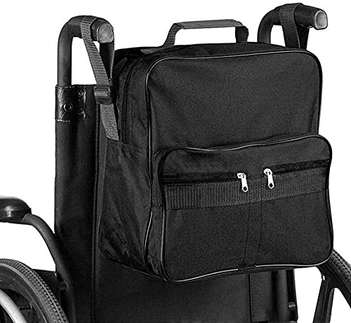 Bolsa de silla de ruedas Movilidad Ayuda Scooter Mochila para personas mayores mayores discapacitados - Hacer sus manos Manos gratis Bolsa de mochila para sillas de ruedas / Mobility Scooter Moch