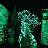 Tatapai 3DLEDライトハンターXハンターゴンとキルアLEDアニメランプナイトライトイリュージョンテーブルランプホームデコレーションホームパーティーサプライデコレーション-16色リモート