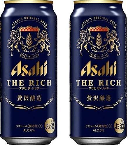 ビール 新ジャンル アサヒ ザ・リッチ 500ml 24本 2ケース