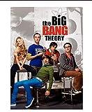 YIGUBIGU The Big Bang Theory Leinwand Malerei Poster