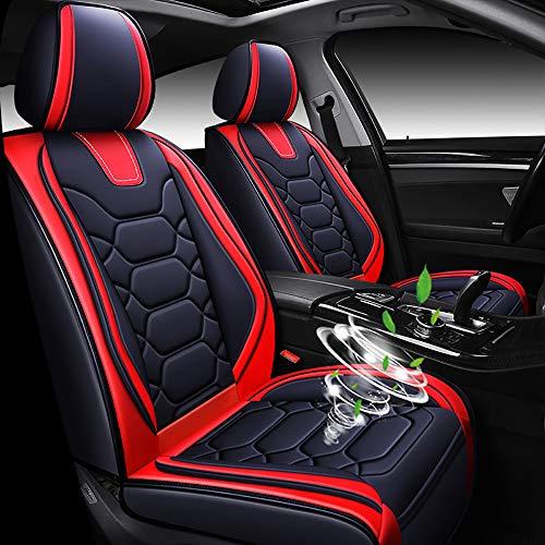 Chemu Fundas de asiento de coche de piel sintética en 3 colores para Honda-alfa Romeo-Mazda-Lexus G