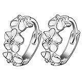 AIUIN Mode Exquisit Ohrringe Kristall Kamelie Hochzeit Schmuck Geburtstags Geschenk Ohrring,Mit Einer Schmucktasche -