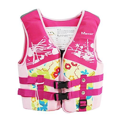 Hony Kinder Schwimmweste - Bademode Badeanzug Aufblasbar Jungen Mädchen Schwimmweste Schwimmjacke Kinder Schwimmtraining AIDS um Schwimmen zu Lernen Größe S M L