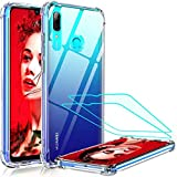 LeYi Coque Huawei P Smart 2019 / Honor 10 Lite [2 Pcs Verre Trempé], Technologie Coussins Air Full...